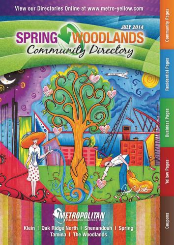 Spring/Woodlands Area (2014/2015) - Metropolitan Publishing